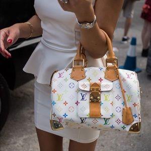 🦄🌈Louis Vuitton multicolor Speedy 30🌈🦄
